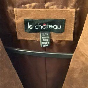 le chateau Jackets & Coats - Le Château Women's Suede Jacket